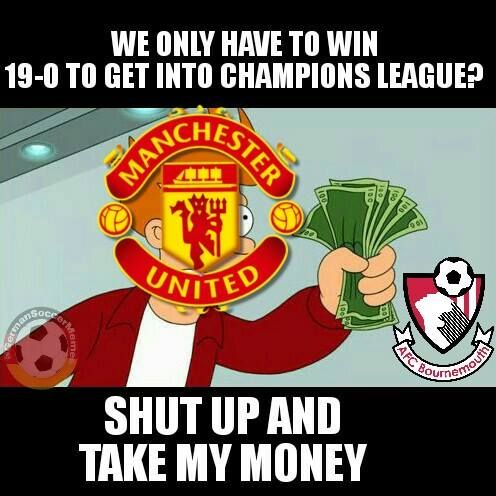 Manchester United be like... Credits: German Soccer Memes