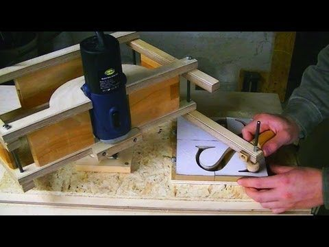 Building the router pantograph by matthias wandel, - YouTube