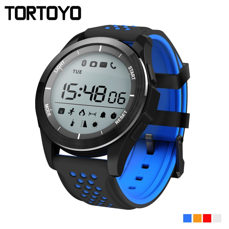 F3 Smart Watch Bracelet IP68 Waterproof Swim Smartwatch Outdoor Fitness Sports Tracker Reminder Notification for iPhone Android #Affiliate