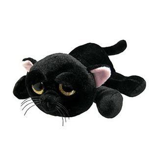Chat noir gros yeux 23 cm