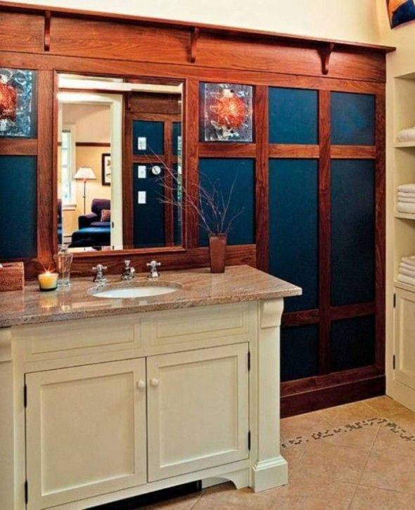 Craftsman Style Bathroom Images : Best images about bathroom remodel on