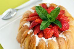 Charlotte aux fraises et mascarpone