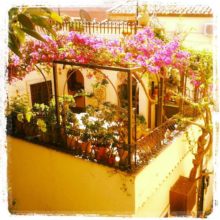 bellissima terrazza in Taormina  #sicilia #holiday #summer #hellosicilia