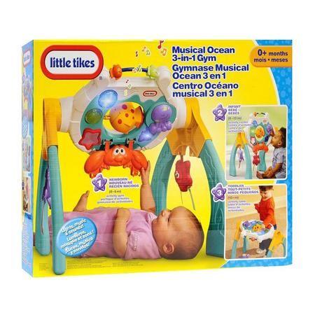 """Little Tikes Развивающий центр Музыкальный океан  — 4000р. ----- Развивающий центр """"Музыкальный океан"""" маркиLittle Tikes. Красочный развивающий центр, выполненный в морской тематике, привлечет внимание малыша и не даст скучать. Центр предназначен дляразвития ребенка по трем этапам: - от 0 до 6 месяцев: малыш лежа слушает приятную музыку, наблюдает за огоньками и пытается дотянутся до игрушек. - от 6 до 12 месяцев: панель устанавливается перпендикулярно полу, тогда ребенок сможет сидя…"""