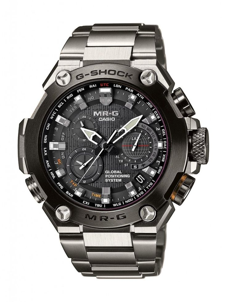 Casio: G-Shock, silber, MRG-G1000D-1ADR