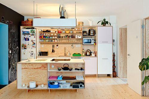 Een speelse keuken inrichting | Huis-inrichten.com