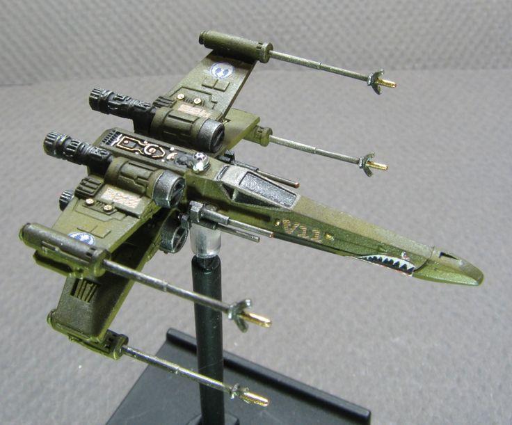 X-Wing miniatures repaint