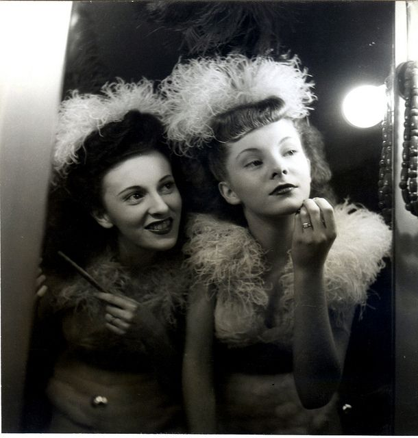 french chorus girls by unexpectedtales, via Flickr