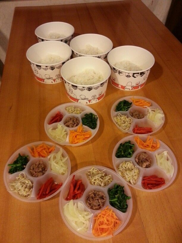 Bibimbap  take-out ...