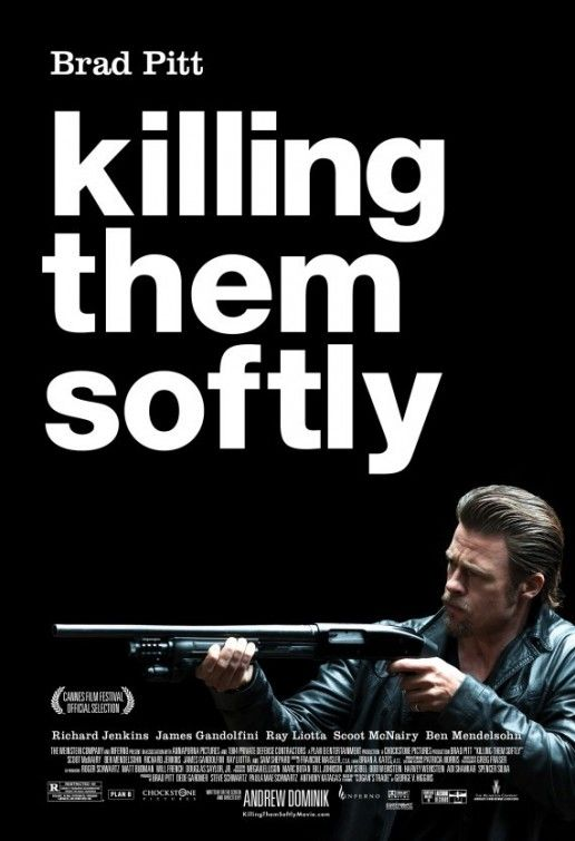 Killing Them Softly by Andrew Dominik (2012) - A  real treat for Noir amateurs brilliantly directed by Andrew Dominik with nice cinematography and good score. Crunchy dialogs, and great low key mobster atmosphere with Obama's first presidential election as backdrop. The last scene of the movie is delightful and tells us all there is to know about America and capitalism.