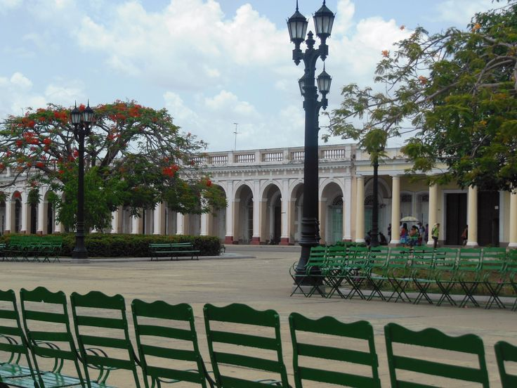 Looking across Parque Marti in the city's centre. Photo by Kathryn MacDonald©
