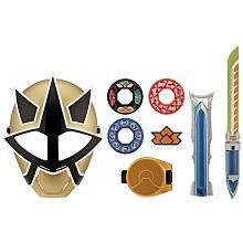 "Carter - Power Rangers Training Gear Role Play Set - Gold Ranger - Bandai - Toys ""R"" Us"
