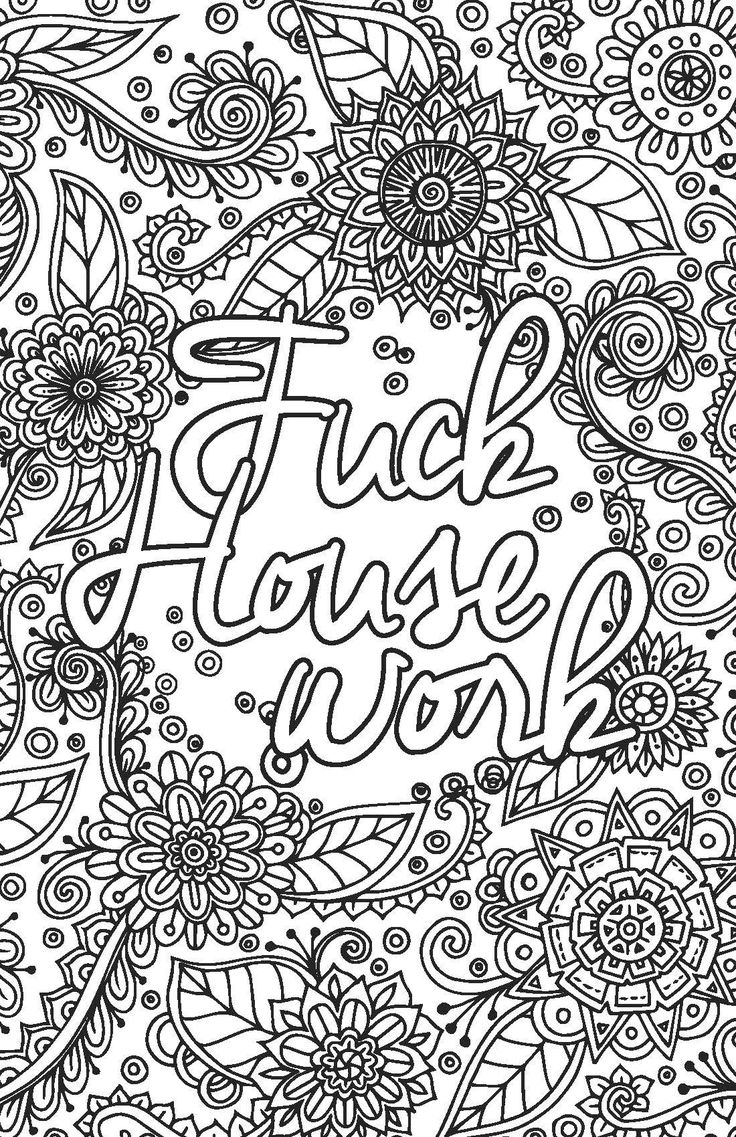 Pin By Valarie Ante On Adult Swear Word Coloring Pages Adult Coloring Pages Coloring Book