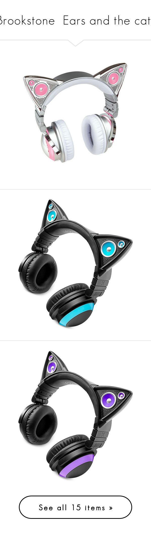 Headphone de Gatinho