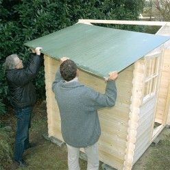 Comment monter une cabane en bois dans son jardin cabane - Comment monter une serre de jardin ...