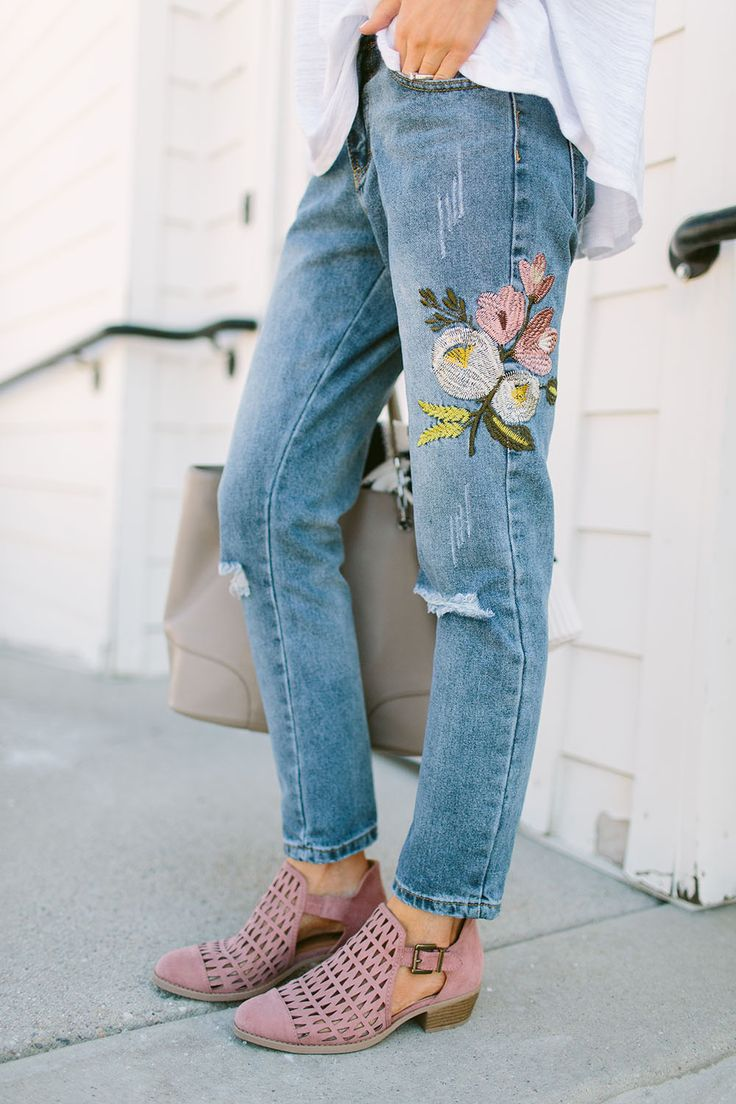 Embroidered Denim: Do's And Don'ts By Little Miss Fearless