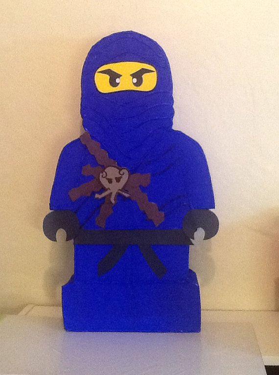 Ninjago piñata ninja go birthday party Ninja go birthday