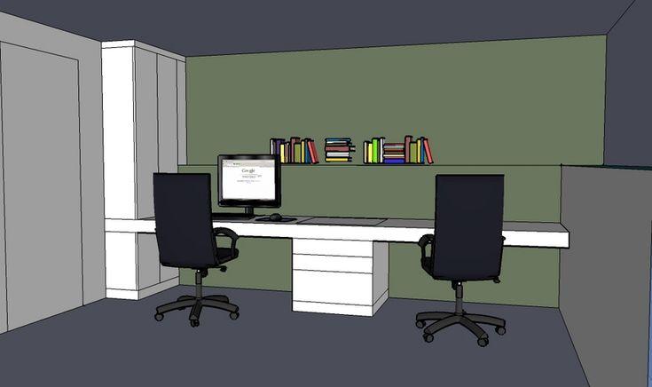 Afbeeldingsresultaat voor bureau kast