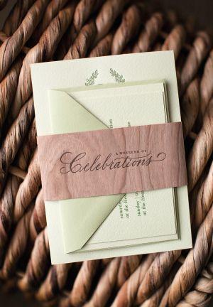 Catherine Nick S Rustic Burlap And Wood Wedding