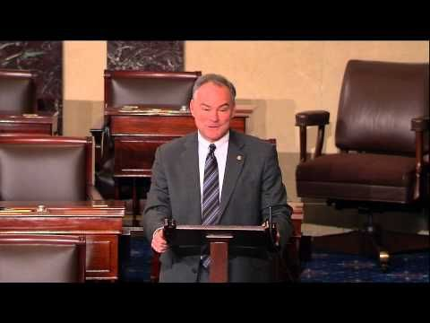 ▶ In Spanish Floor Speech, Senator Kaine Makes Case For Immigration Reform - Highlights - YouTube