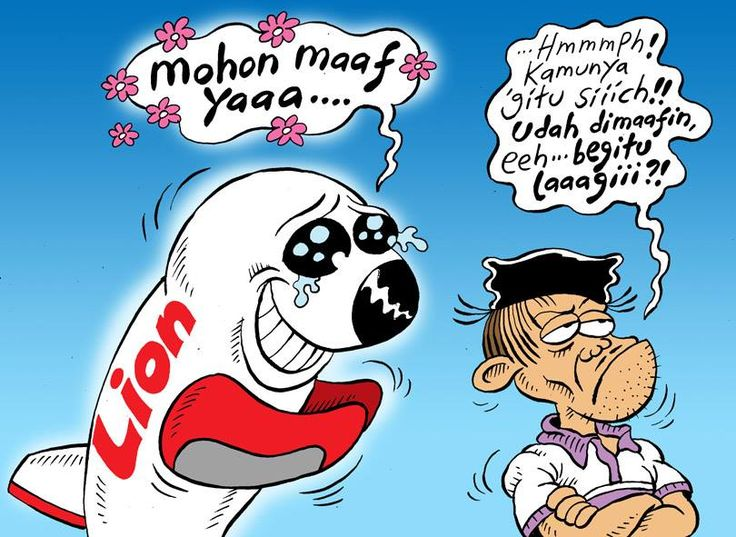 Mice Cartoon, Rakyat Merdeka - Agustus 2016: Mohon Maaf