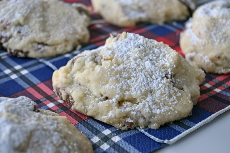 """Toblerone Shortbread Cookies. """"Love them, love them, love them...this is THE best recipe ever. EVER!"""""""