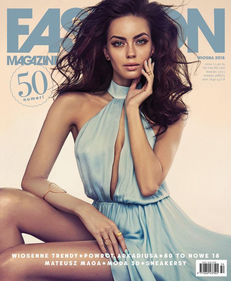 Edyta Zając dla Fashion Magazine spring issue #FashionMagazine #EdytaZając #MaciejBernas #Spring
