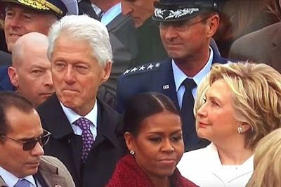 Bill Clinton Caught Checking Out Ivanka Trump By Wife Hillary - And She Doesn't Look Happy About It