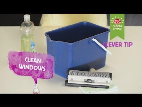 Cleaning Windows - DYC White Vinegar