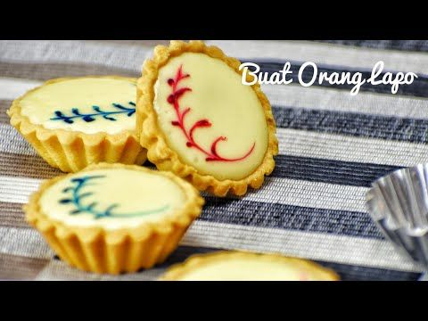 Resepi Tat Keju | Cheese Tart Recipe (Blueberry/Chocolate ...