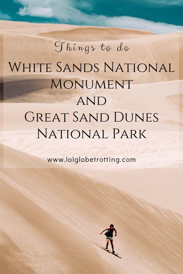 Great Sand Dunes vs White Sands – Stunningly Spectacular Sandy Sites