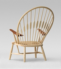 'Påfuglen' (The peacock) by Hans J. Wegner. Another impressing work with wood.
