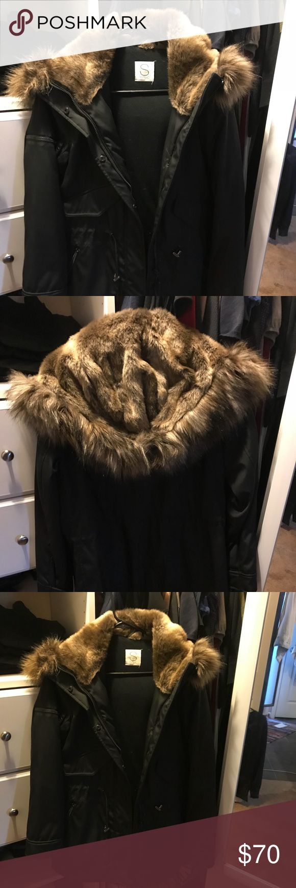Victoria's Secret NYC S/13 Faux Fur Jacket Victoria's Secret NYC S/13 Faux Fur Jacket.  Only worn once (it doesn't get cold enough to wear where I live) I bought it from the Victoria's Secret catalog but it does not say VS on it. Victoria's Secret Jackets & Coats