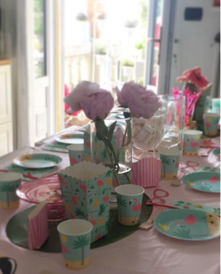 Happy 11 🌸 Flamingo party!! Birthday girl #festa compleanno #cake #flamingo #fenicottero