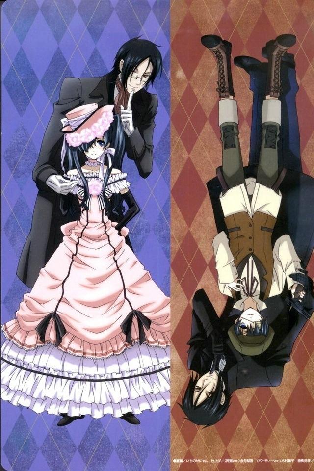 Sebastian Michaelis & Ciel Phantomhive Watch in English or Japanese Kuroshitsuji S1 (Black Butler S1) http://animewaffles.tv/Details-Kuroshitsuji-S1-Black-Butler-S1-168 Kuroshitsuji S2 (Black Butler S2) http://animewaffles.tv/anime_detail.php?id=163 Kuroshitsuji: Book of Circus http://animewaffles.tv/Details-Kuroshitsuji-Book-of-Circus-1327