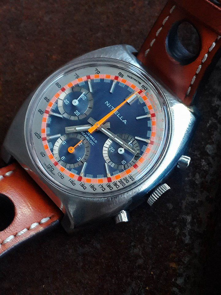 FS: Nitella tri compax chronograph Valjoux 7736