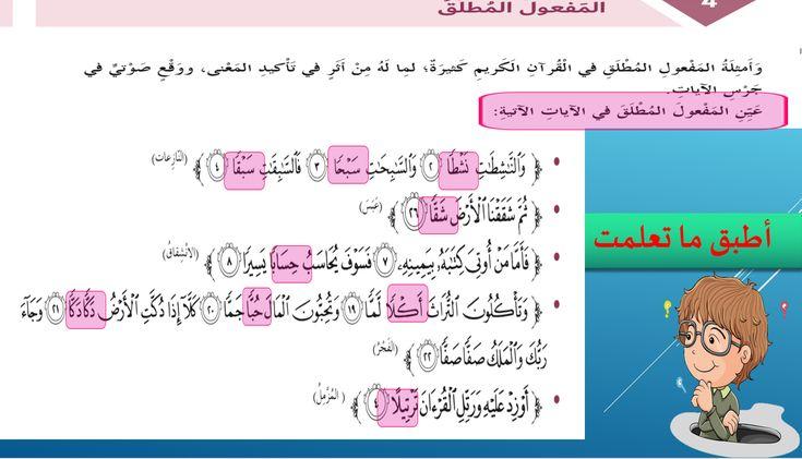 بوربوينت درس المفعول المطلق للصف السادس مادة اللغة العربية Words Word Search Puzzle Map