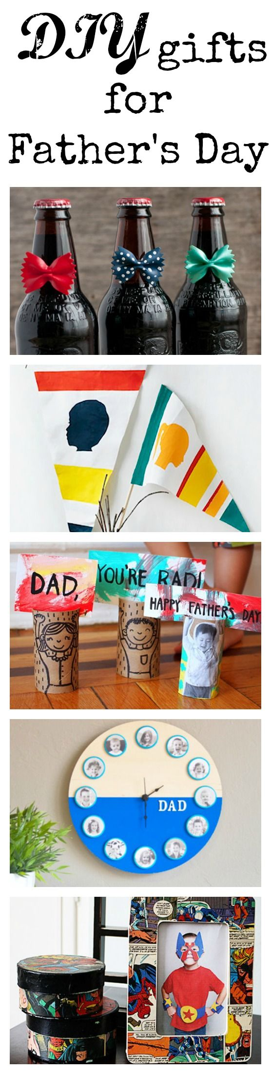 Learn how to make 5 of the best easy DIY Father's Day Gifts with FolkArt Paint and Mod Podge. Fun for the kids, or for your own craft day!
