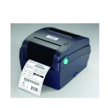ermotransferowa drukarka etykiet TTP 245C , TTP 343C (drukarka TTP 245C - 200dpi i TTP 343C - 300dpi) w standardzie wyposażona została we wszystkie popularne potry komunikacyjne z Print Serwerem włącznie, dodatkowym atutem jest czytnik kart SD pozwalajacy rozszerzyć pamięć wewnątrzną drukarki do 4GB, ergonomiczna, niewielka obudowa, konstrukcja wałków ułatwiająca zakładanie rolek z etykietami i taśmy termotransferowej. Dodatkowo dostępne są opcje obcinaka etykiet i odklejaka.DRUKARKI TSC