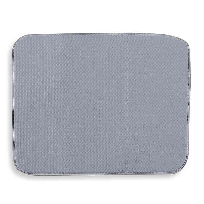 The Original Dish Drying Mat In Grey Bed Bath Beyond Dish