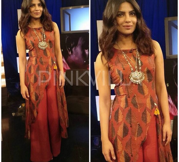 Anushree label # Priyanka Chopra # Pallazo love # casual day out