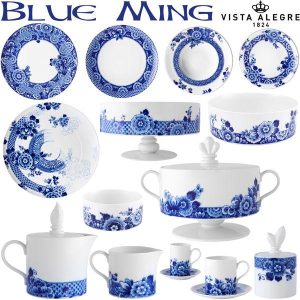 Vajillas de Porcelana Vista Alegre Blue Ming