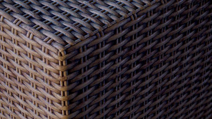 Wicker - Substance Material, Peter Sekula on ArtStation at https://www.artstation.com/artwork/DObYE
