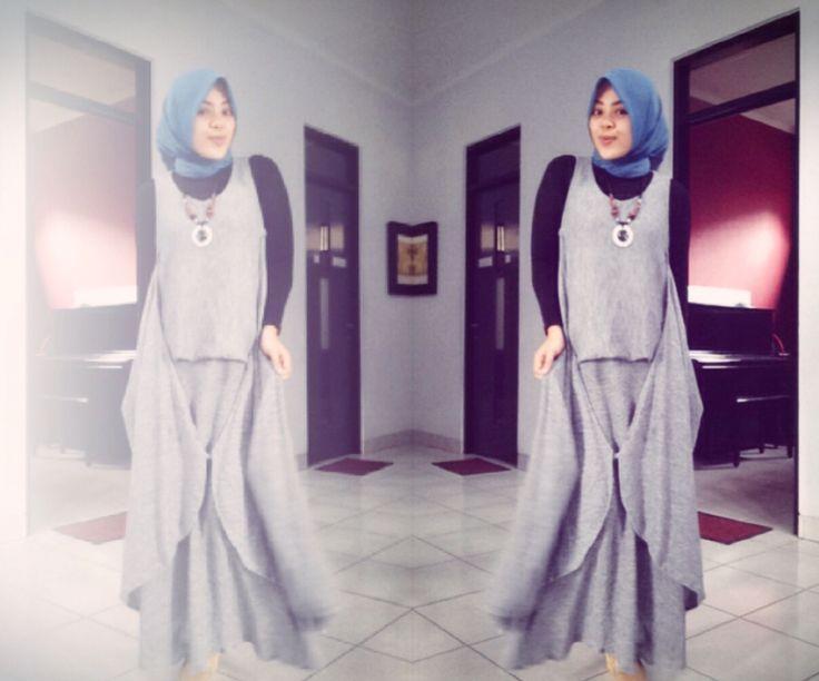 Grey n blue