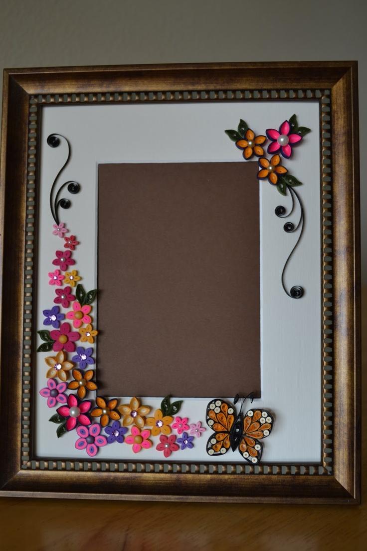 84 besten Frames Bilder auf Pinterest | Papier Quilling Blumen ...