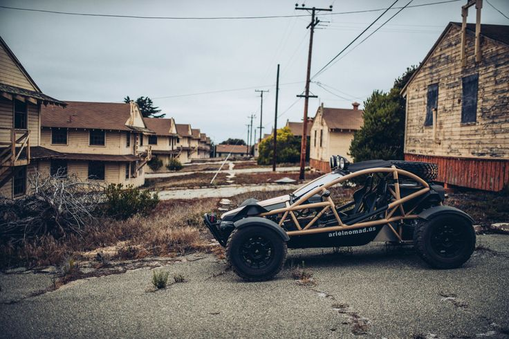 The Ariel Nomad Is the Perfect Sports Car for When the World Turns to Rubble