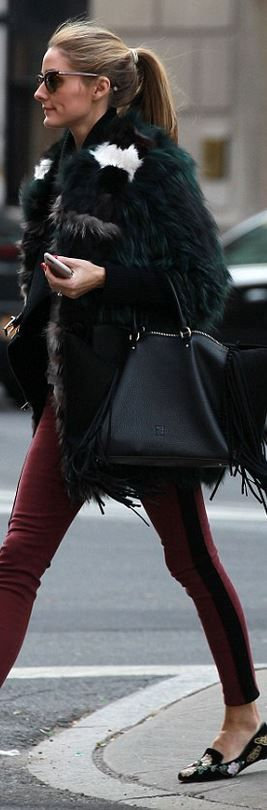 Purse – CH Carolina Herrera Shoes – Alexander McQueen Jeans – Hudson similar style shoes by the...