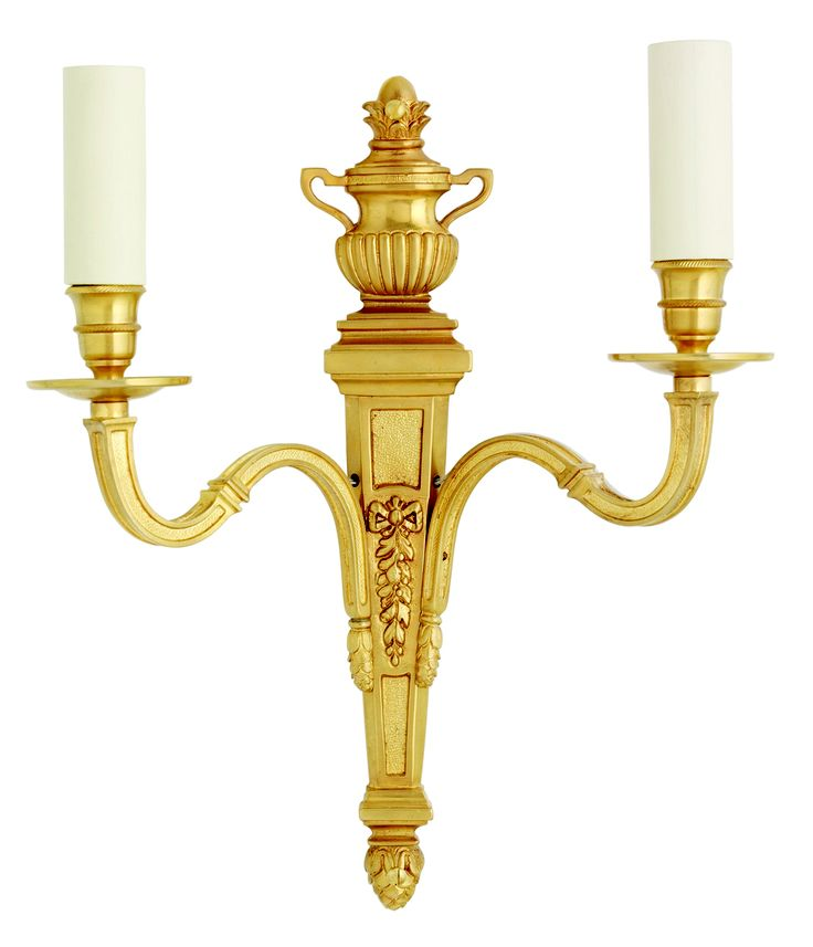 W4-051 - Traditional 2 Arm Empire Wall Light