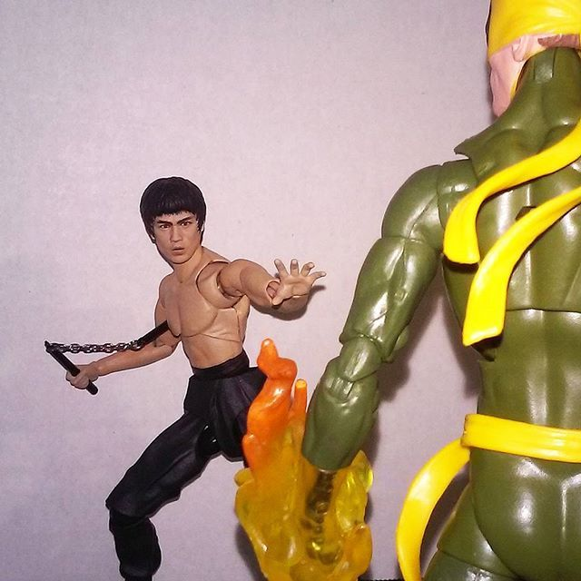 """Danny's got whole new Dragon on his hands.  #Defenders #Marvel #Hasbro #FunkoPop #Minimates #Daredevil #Toy #toycollector #toys #toyphotography #Toyartistry #SHFiguarts #Cosplay #Nerd #Anime #Manga #Instagood #toystagram #Geek #Netflix #Videogames #MMA #Nerd #BruceLee #Actionfigurephoto #HarleyQuinn #RickandMorty #Deadpool"" by @kollector_kombat. #ganpatibappamorya #dilsedesi #aboutlastnight #whatiwore #ganpati #ganeshutsav #ganpatibappa #indianfestival #celebrations #happiness…"