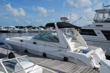 34' Sea Ray: This 340 Sundancer is priced to sell! The twin Mercruiser engines only have 297 hours and the Westerbeke generator only has 140 hrs.